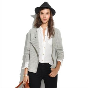 madewell viewpoint sweater jacket